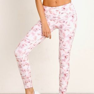 Varley biona tight legging in vintage floral xs
